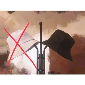 Accessories - (✨3/$15) black bucket hat